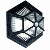 Elstead Parish PR12 Exterior Black Flush Lantern